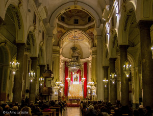 Scalunata di S. Giuseppe a Caccamo