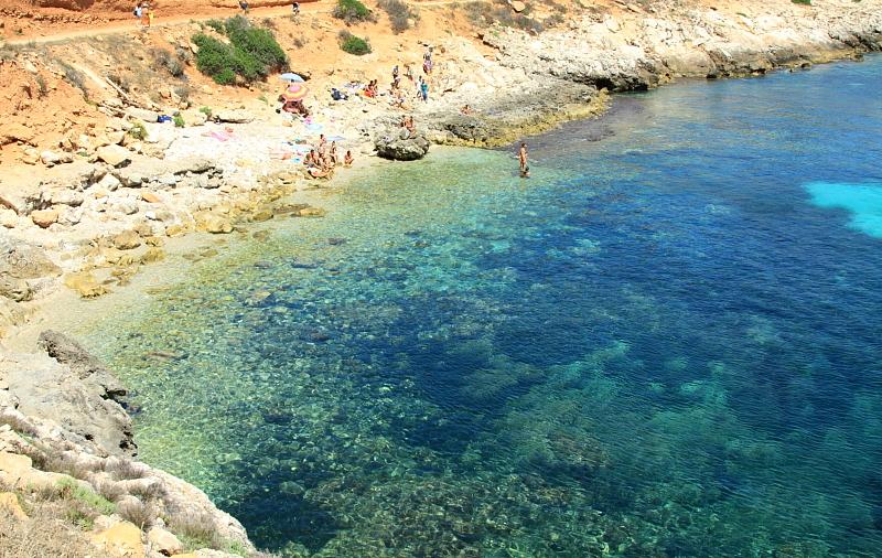 Spiaggia isola di Levanzo