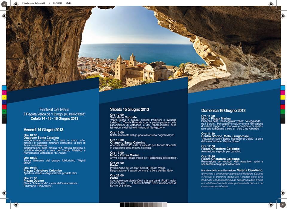 Programma II Regata dei Borghi più belli d'Italia