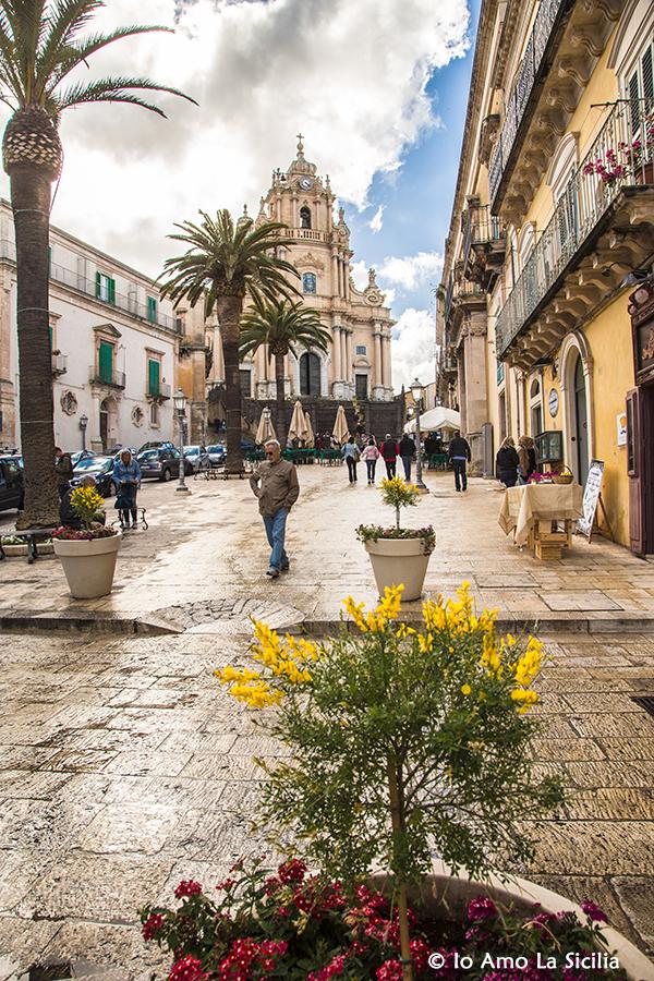 Piazza Duomo Ragusa ibla - Piazza di Vigata