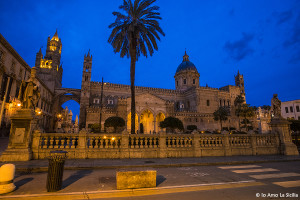 Cattedrale di Palermo by night