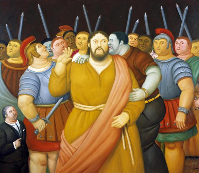 La passione di Cristi di Botero a Palermo