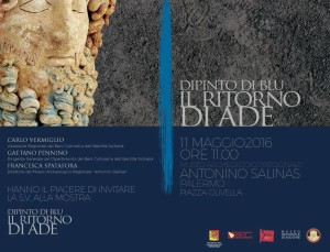 Testa di Ade in Mostra a Palermo