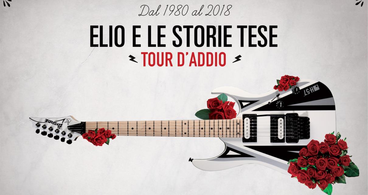 Eventi Tour di addio Elio