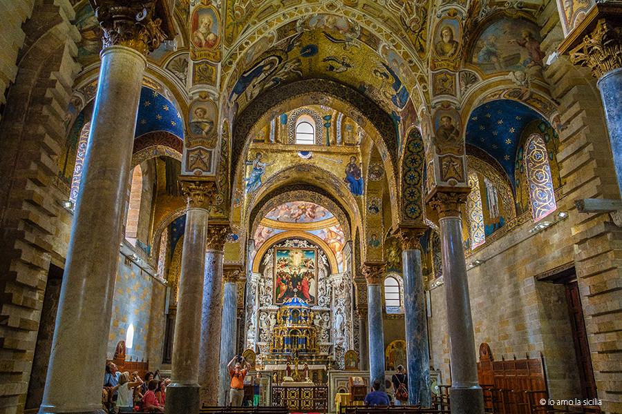 Chiesa di santa maria dell 39 ammiraglio martorana for Interno delle piantagioni del sud
