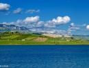 Sambuca di Sicilia - Veduta dal Lago Arancio