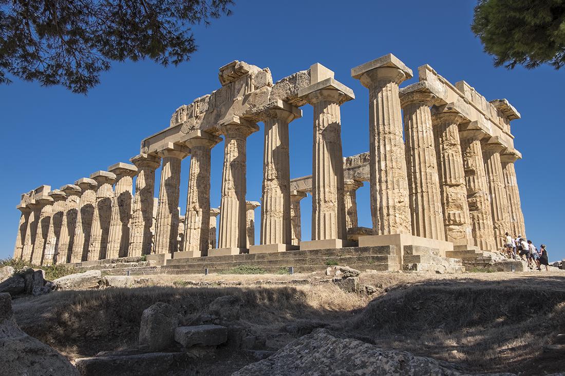 Tempio E Selinunte