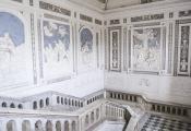 Scalone monumentale al Monastero dei Benedettini