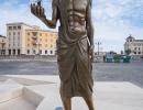 Siracusa - Statua di Archimede