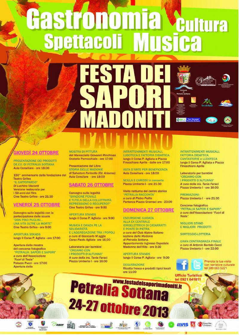 Festa dei Sapori Madoniti