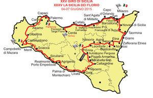 Mappa giro di sicilia
