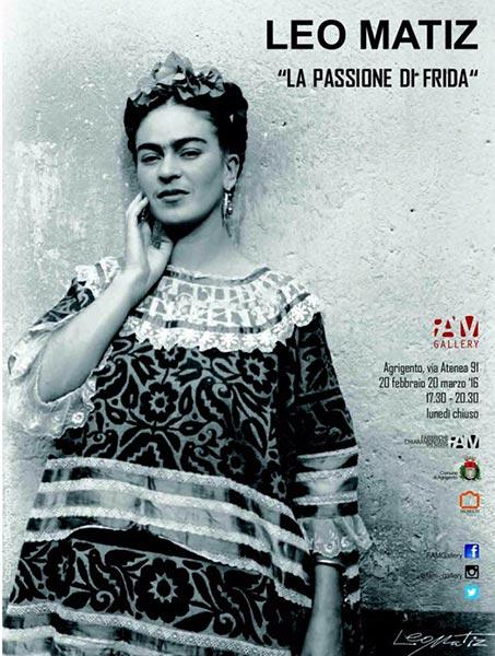 Mostra Frida Kahlo ad Agrigento