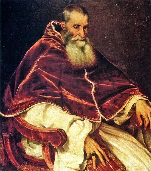 Ritratto di Paolo III Farnese