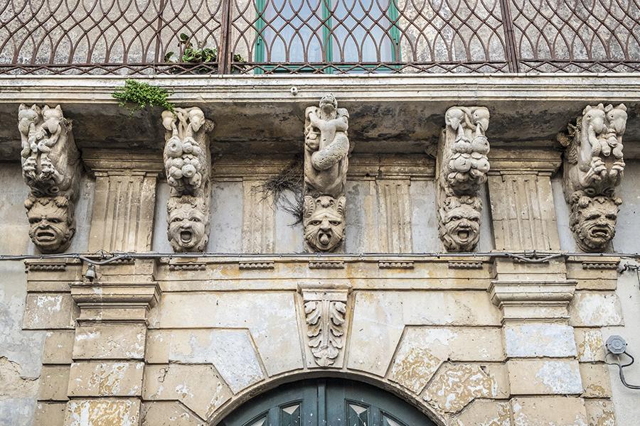Balcone barocco