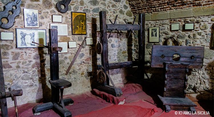 castello di brolo museo della pena e della tortura