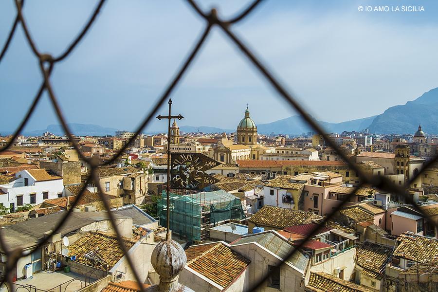 Palermo dall'alto: Chiesa di S. Salvatore