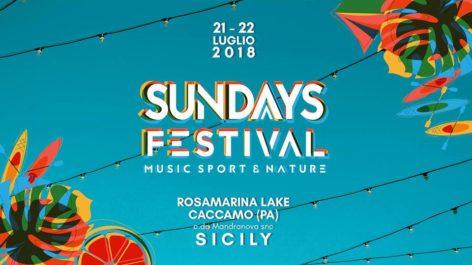 Sunday Festival Locandina