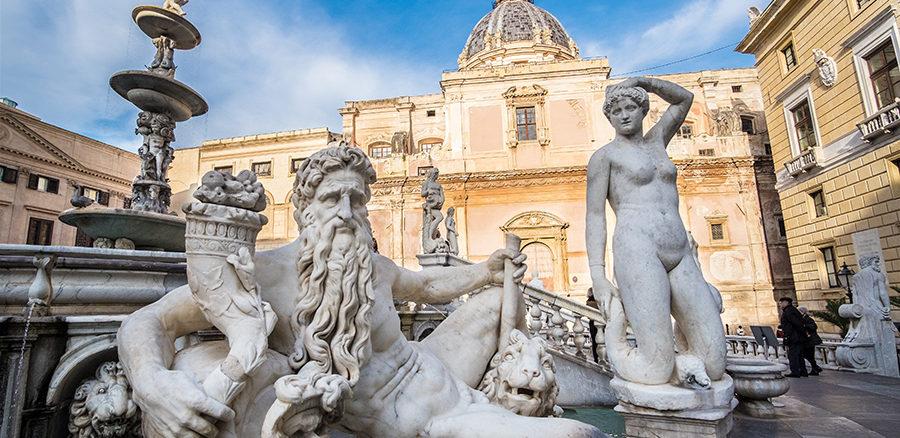 Fontana Pretoria Palermo